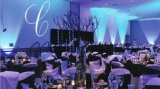 Desales University - Transformed DeSales University into a beautiful wedding venue with uplighting, gobo, and decor.