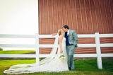 Sarah and Eric at Friedman Farms - photo by Maggie J Photography