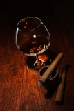 Enjoying your Drink and Cigar Together!