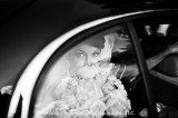 Bride in Limousine