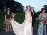 The Gold Wedding Gown - The wedding of Crystal Reinert and Matthew Desch was performed at Iron Lakes Country Club. Crystal was my first bride to wear a gold wedding gown. She looke so beautiful! Magnificent!