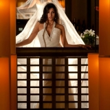 Melt Restaurant - An stunning bridal image at Melt Restaurant at the Promenade Shops in Saucon Valley, PA.