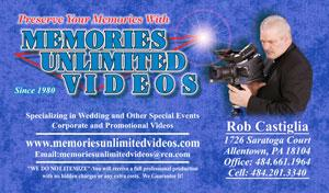 Memories Unlimited Videos, Inc